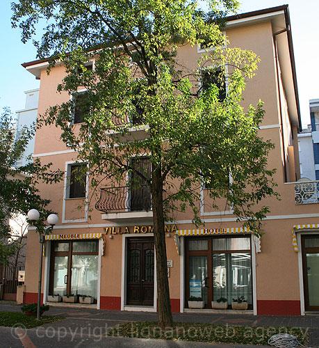 Das hotel villa romana von grado for Hotel meuble villa patrizia grado