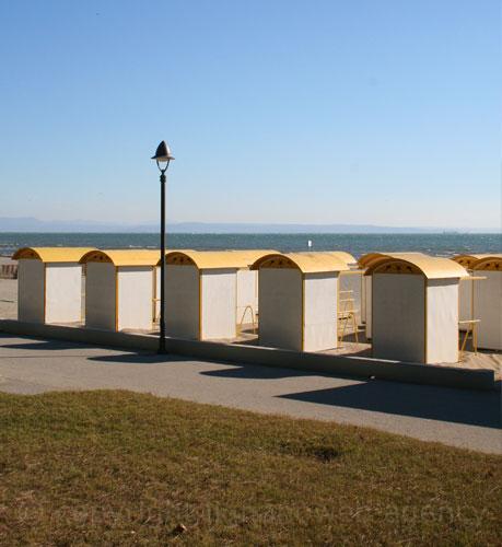Grado beach view