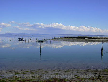Grado lagoon view