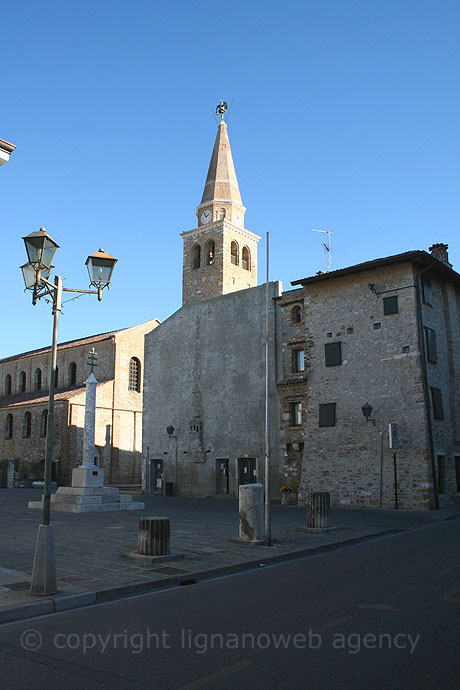 Historical center of grado island